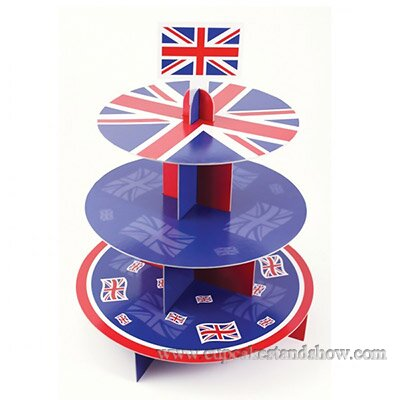 Great Britain 3 Tier Cake Holder