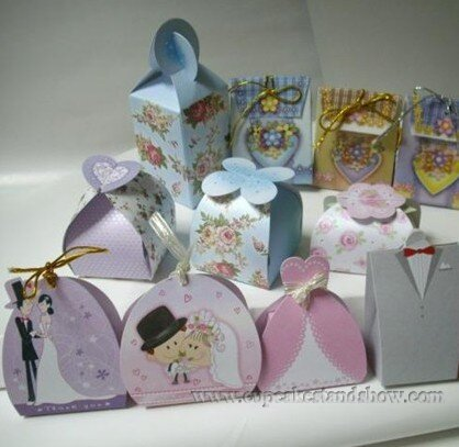 Beautiful Party Doors Gift Box