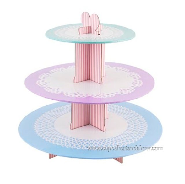 Three Color Cupcake Stand