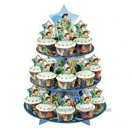 Toy Story 3 Cupcake Stand for Children Party
