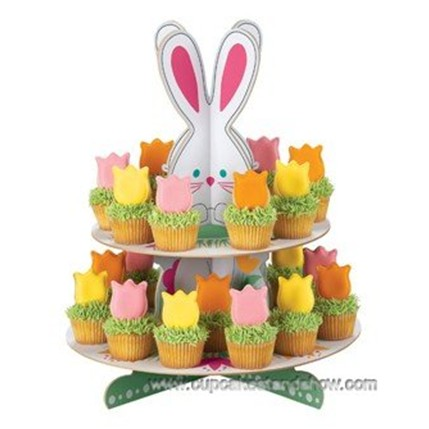 Easter Bunny_Cupcake Stand