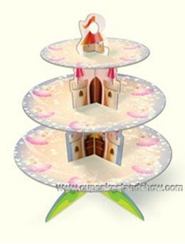 Cartoon Cupcake Stand