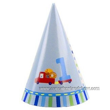 Boys First Birthday Cone Hats Cardboard Cupcake Standcupcake Treecake Stand For Partycupcake Ceremonycustom