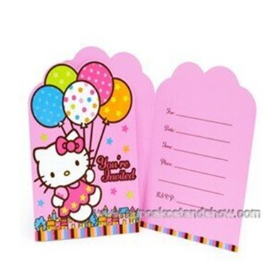 Fairies Party Invitation Cards