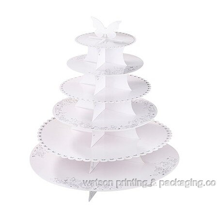 Beautiful Butterfly 6 tier Cake Stand