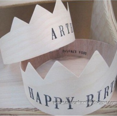 Happy Birthday Paper Crown