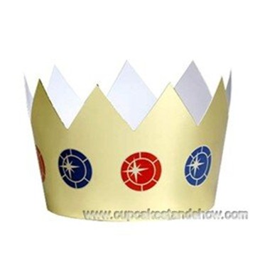 Medieval Knight Party Crown Hats