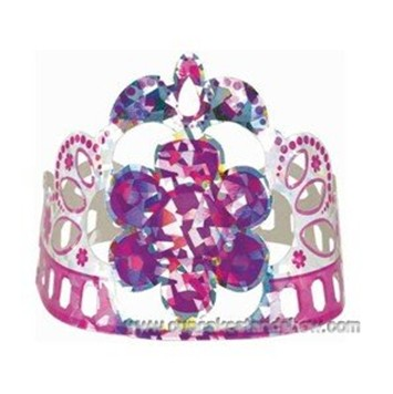 Glitzy Girl Paper Party Crown