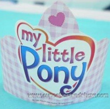 My Little Pony Paper Hat