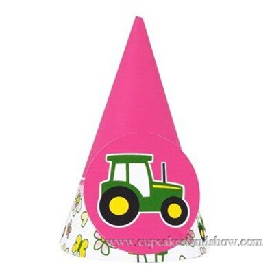 Pink Car Cone Hats