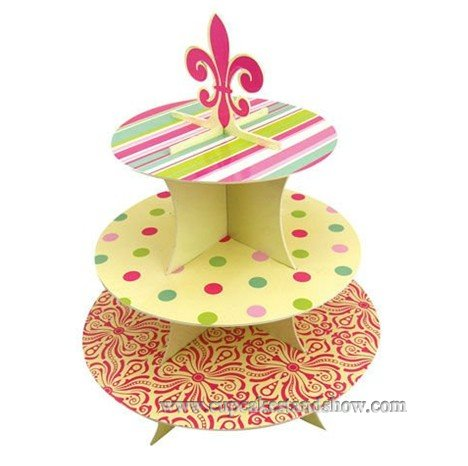 Cardboard Cupcake Stand For Ceremony