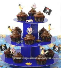 Fantasy Corrugated Cupcake Stand For Boys