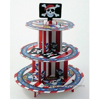 Pirate Series Party Cupcake Stand