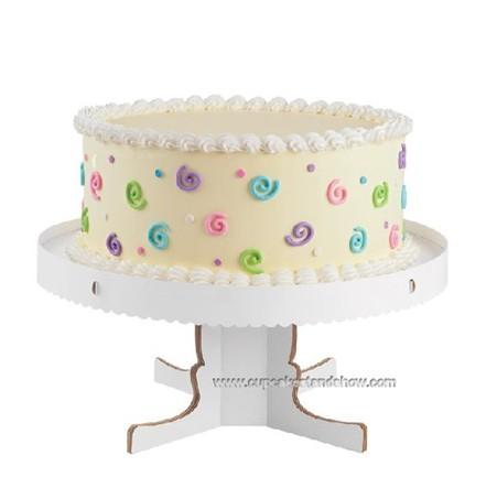 Single Tier Cardboard Cake Stand