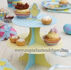 Easter Chick Cupcake Stand