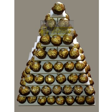 Cardboard Display Stand for Ferrero Rocher Chocolate