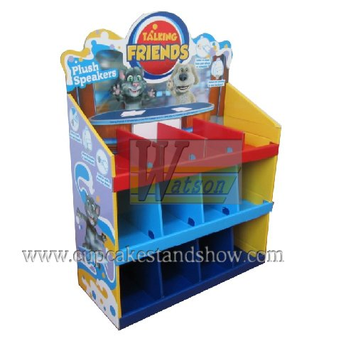 Talking Friends Corrugated Display Stand