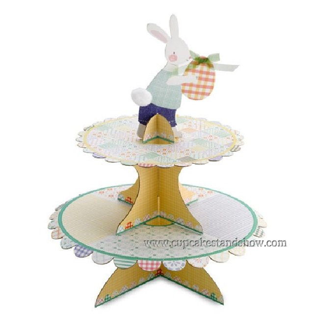 Easter Festival Cardboard Cupcake Stand