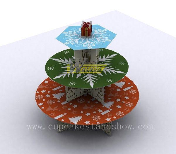 Original New Design Gift Cardboard Cupcake Stand