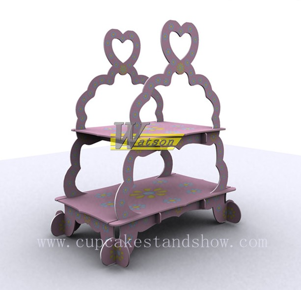 Original Design Cardboard cupcake Stand wholesale
